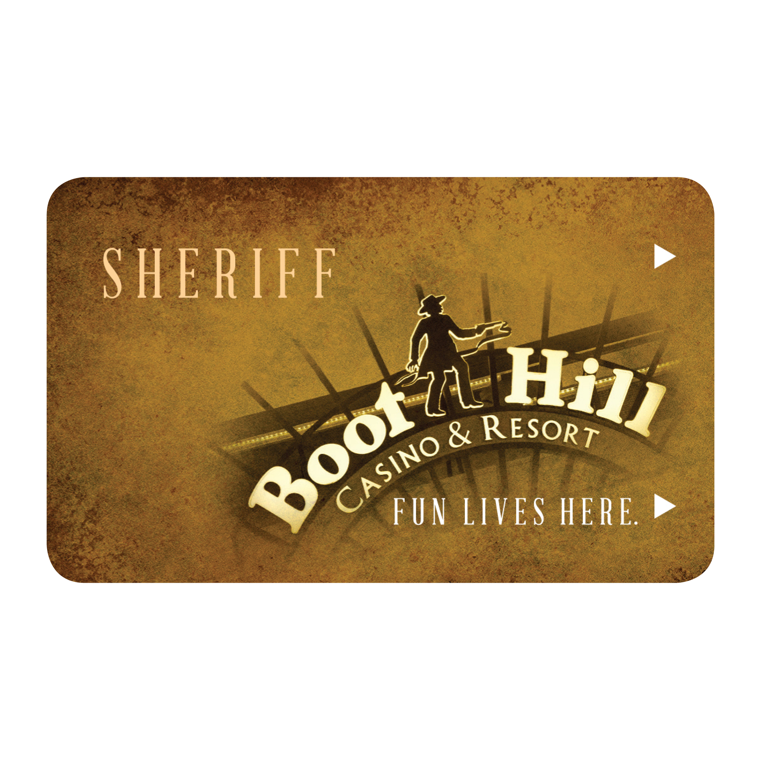 Sheriff Players Card